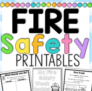 photo relating to Fire Safety Printable called Fireplace Protection 7 days Printables