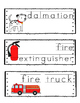 Fire Safety Word Wall {Dollar Deal}