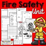 Fire Safety Worksheets (No Prep)