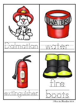 Fire Safety Write / Stamp the Room Activity Pack