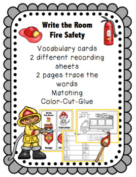 Fire Safety - Write the Room