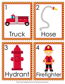 Fire Safety Write the Room Activity