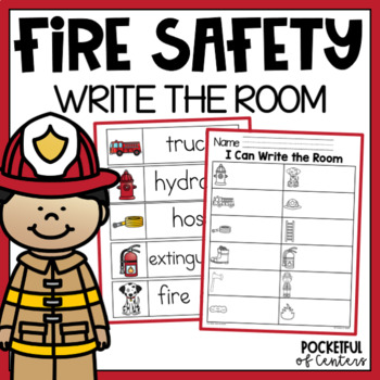Fire Safety Write the Room