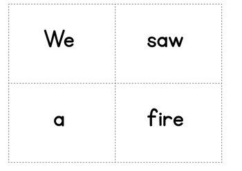 Fire Safety Writing