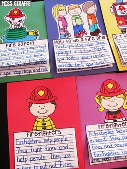 Fire Safety Craft Activities (9 Fire Safety Writing Crafts