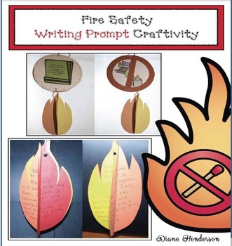Fire Safety Writing Prompt Craftivity