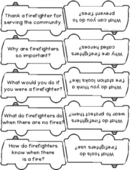 Fire Safety {Writing Prompts and Themed Papers}