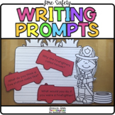 Fire Safety Writing Prompts and Themed Papers   Fire Prevention Week