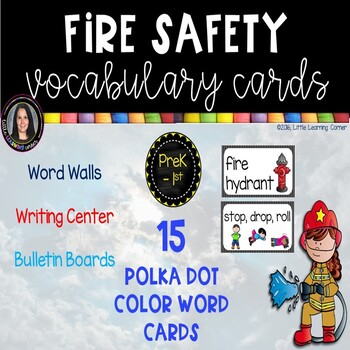 Fire Vocabulary Word Cards