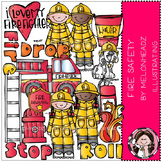 Fire Safety clip art - COMBO PACK- by Melonheadz
