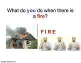 Fire Safety in the Home w/ ASL support
