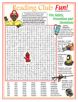 Fire Safety is Smart Set (Fire Prevention, Safety, Technology and Equipment)