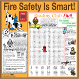Fire Safety is Smart Set (Fire Prevention, Safety, Technol