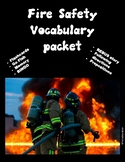 Fire Safety- vocabulary, bingo, following directions, prep