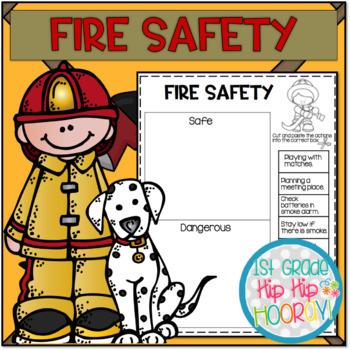 Fire Safety...Craft and Activities!