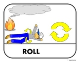 """Fire Safety/""""Stop, Drop, & Roll"""" Story Sequence for Autism"""