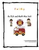 Fire Saftey Math and ELA Activities