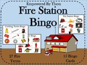 Fire Station Bingo