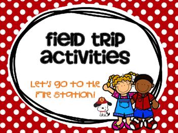Fire Station Field Trip Activities