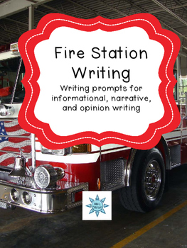 Fire Station Field Trip Writing