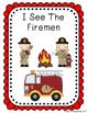 Fire Themed Interactive Emergent Readers