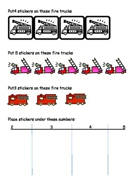 Fire Truck Counting Math