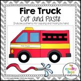 Fire Truck Craft