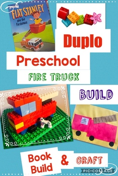 Fire Truck! Jr Engineers, Learning with Duplo® Bricks