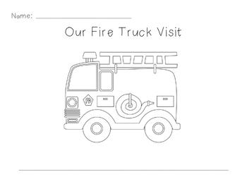 Fire Truck Writing