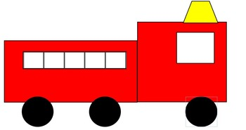 Persnickety image regarding fire truck template printable