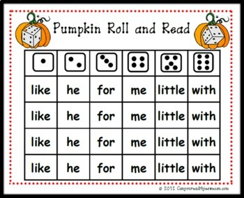 Fire Trucks and Pumpkins:  6 Kindergarten Common Core Center Games