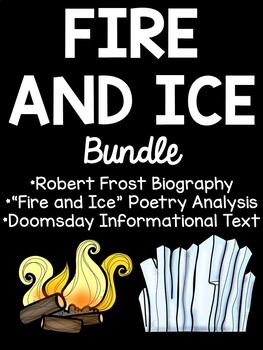 Fire and Ice Poetry Bundle, Paired Passages- Fiction & Non