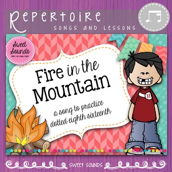 Fire in the Mountain - Dotted Eighth Sixteenth Practice Pack