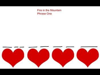 Fire in the Mountain- Visual Representation- ta dimi