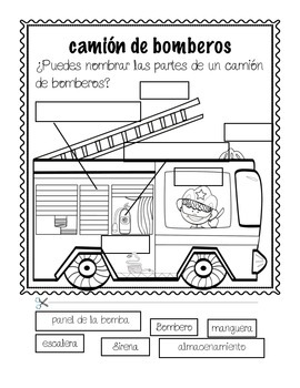Semana de seguridad contra incendios/Fire safety week in Spanish
