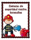 Semana de seguridad contra incendios/Fire safety week in Spanish