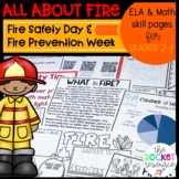 Fire-themed activities for a fire unit, Fire Safety Day, F