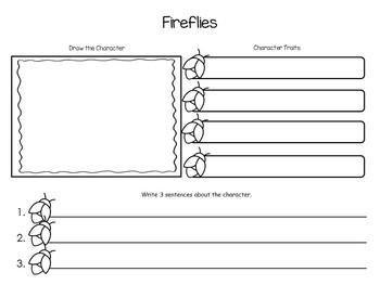 FireFlies by Julie B  45 pgs of common core activities