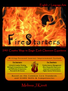 FireStarters: ELA Start-the-Day Activities (Writing-Focused Student Mgmt System)