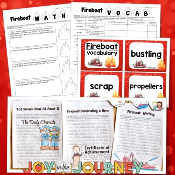 Fireboat - September 11th Activities for Upper Elementary