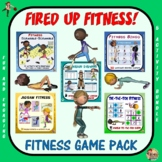 Fired up Fitness: 5 Product Fitness Game Pack BUNDLE