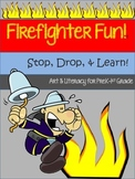 Firefighter Art & Literacy Bundle {34 Pages}