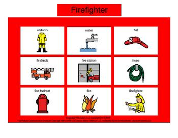 Firefighter Bingo! Multiple Boards [speech therapy]