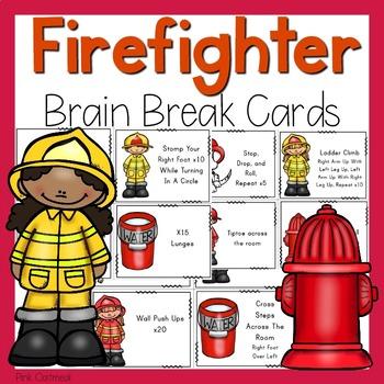 Firefighter Brain Breaks