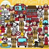 Firefighter Clip Art {Whimsy Clips Clip Art}