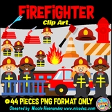 Firefighter Clip Art Commercial Use