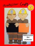 Firefighter Craft Bulletin Board