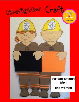 Firefighter Craft Bulletin Board