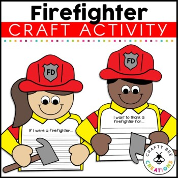 Firefighter Craftivity