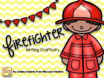 Firefighter Craftivity